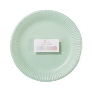 Buy Pastel Round Paper Plates