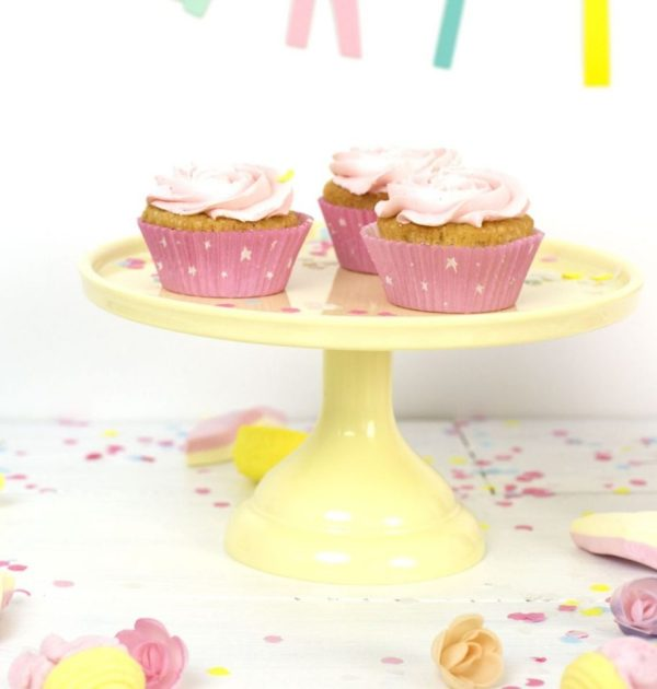 Buy Small Cake Stand Yellow
