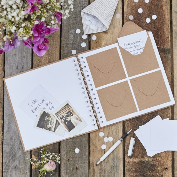 Envelope Guest Book