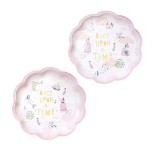 Fairytale Pink Paper Plates