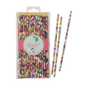 Floral Fiesta Straws