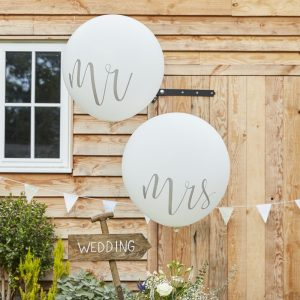 Huge Mr. and Mrs. Balloons