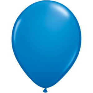 11 Inch Standard Dark Blue Latex Balloon