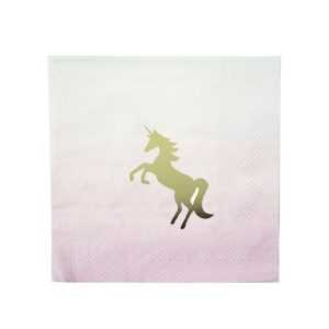 Unicorns Cocktail Napkins