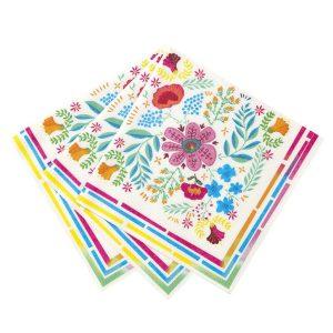 Buy Boho Floral Napkins