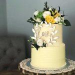 love cake topper wedding