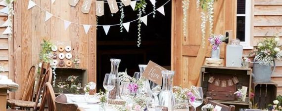 party decorations for your wedding