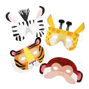 Buy Party Animals Paper Masks