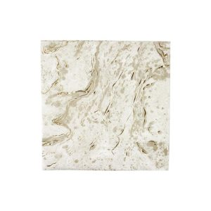 Buy Party Porcelain Gold Marble Napkins