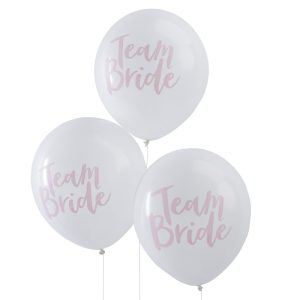 Buy Pink & white Hen Party Balloons