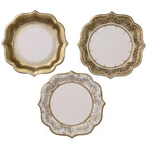 Party Porcelain Plates Medium
