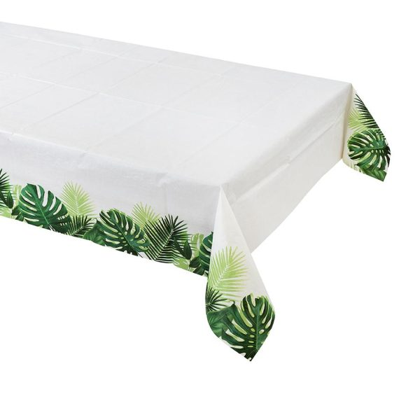 Tropical Fiesta Palm Leaf Table Cover