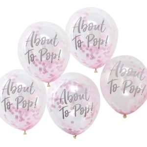About to Pop! Pink Balloons