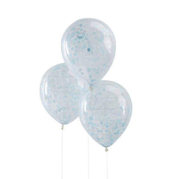 Buy Blue Confetti Filled Balloons