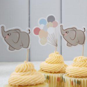 Elephant & Balloons Flags