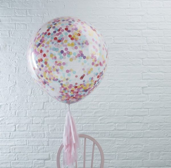 Huge Confetti Filled Balloons