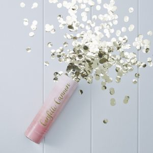 Pink Ombre Compressed Air Confetti Cannon Popper