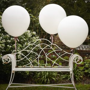 White 36 Inch Feature Balloons