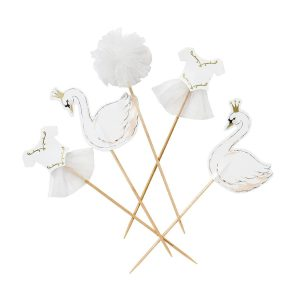 Buy We Love Swans Cake Toppers