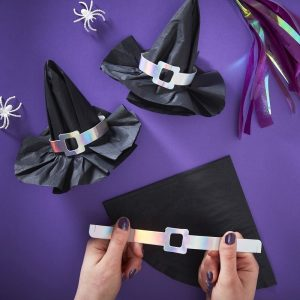 3d Witch Hat Paper Narkins