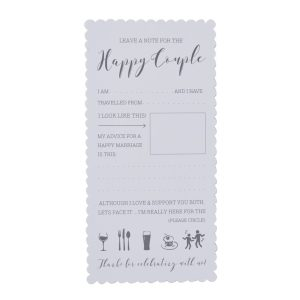 Buy Advice For The Happy Couple Cards
