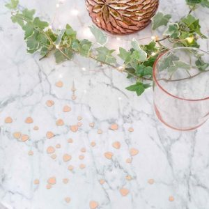 Porcelain Rose Gold Scatter