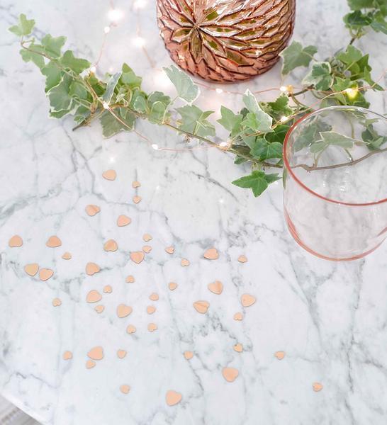 Porcelain Rose Gold Scatter