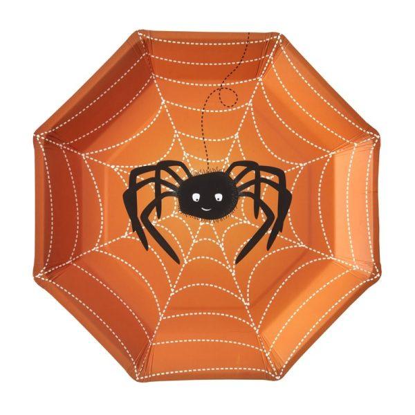 Buy Spooky Halloween Paper Plates