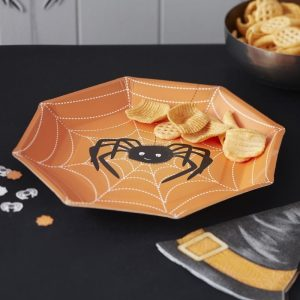 Spooky Halloween Paper Plates
