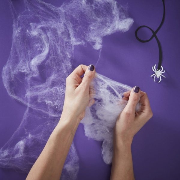 Stretchable Fake Spiders Web