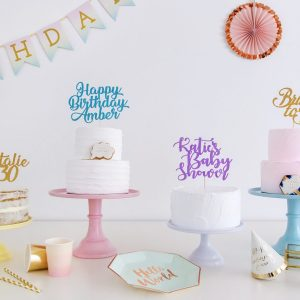 Create your own cake topper