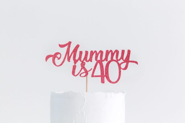 Cake Topper Mum Birthday