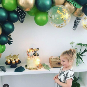 Balloon-Arch-Tropical-Green-Bristol-Helium-Balloon Where to buy balloon arch Bristol Party Shop Balloons Delivery