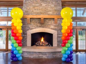 Balloon Column Bristol Corporate event Bath#