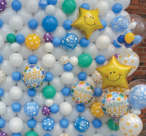 Balloon Wall Installation Bristol UK. Party decorations Shop Best Helium Balloons in Bristol. Corporate event decorations. Clifton