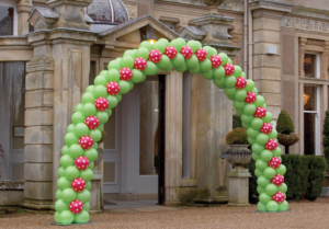 Balloon Arch Installation Bristol Best Balloon Shop Party Shop to buy helium balloons in Bristol Inspired by Alma