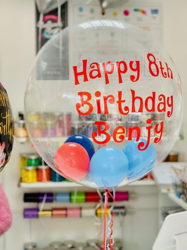 child birthday balloon helium bristol