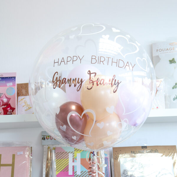 Bubble Balloon Hearts