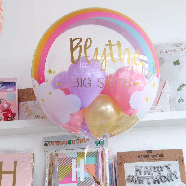 Rainbow Bubble Balloon