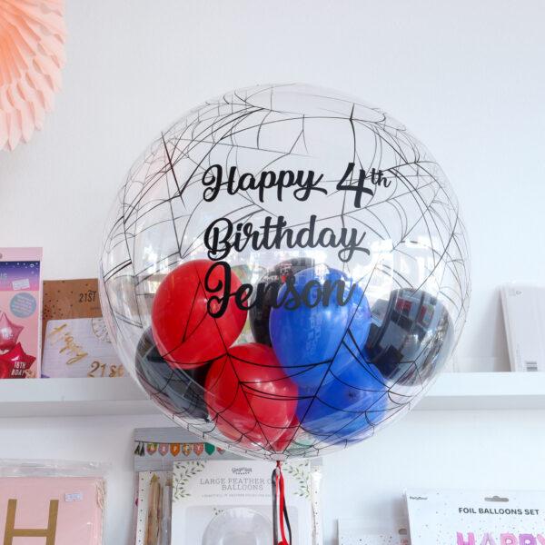 Spiderweb Bubble Balloon