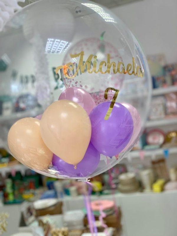 birthday girl helium balloon bristol