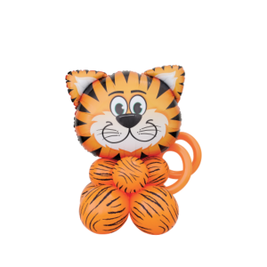 Buy safari party decorations in Bristol Helium balloons tiger, lion, giraffe