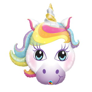 giant unicorn helium balloon