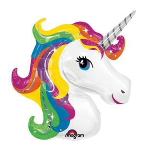 buy Giant rainbow unicorn helium balloon