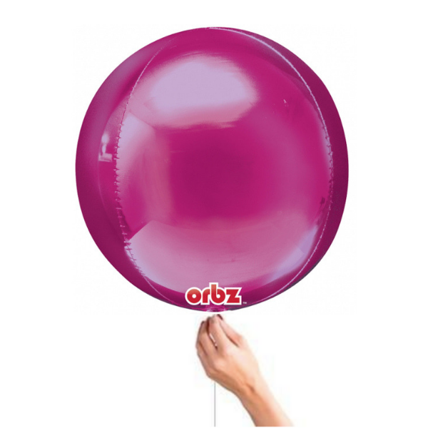 Bright Pink Orbz Balloon Shop Helium Balloons in Bristol Party Shop best party decorations