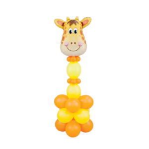 giraffe made with balloons Bristol