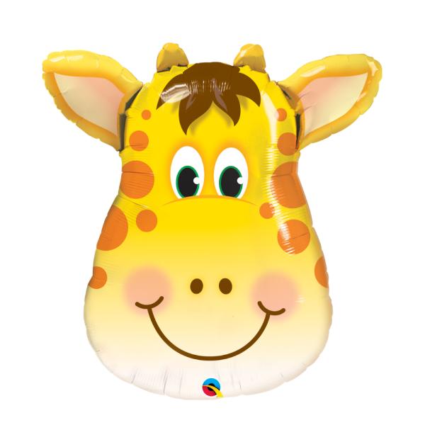 giant giraffe helium balloon Bristol Best party decorations