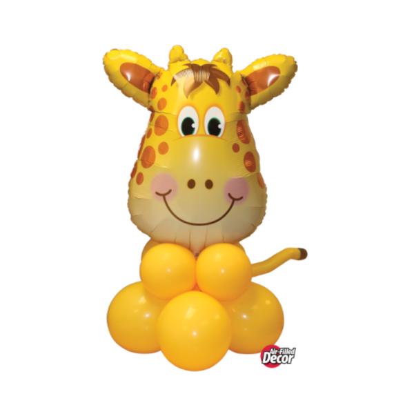 Cute giraffe for animal party bristol Helium balloons