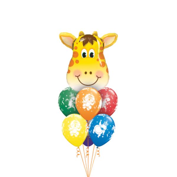 Balloon bouquet for safari party ideas in Bristol
