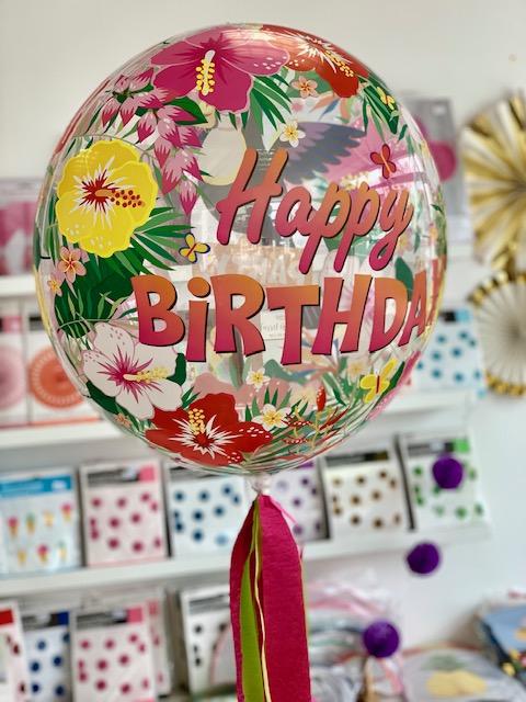 Bubble Balloon Helium Inflated Bristol. Buy Birthday balloon in Bristol. Best Helium balloons in Clifton, whiteladies road.